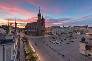 Krakow Main Square is the first place to visit in Krakow!