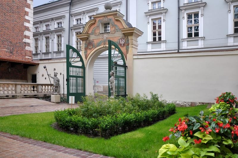 Gate to the Professors' Garden