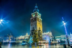 Krakow is always beautifully decorated for Christmas and inviting for Christmas Market on Market Square