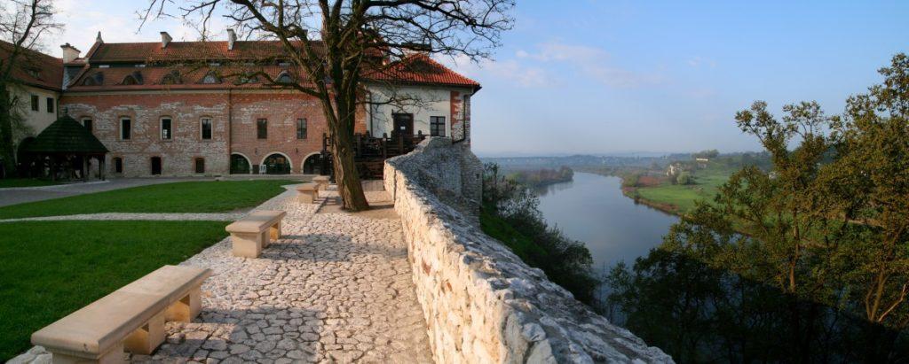Benedictine Abbey, view on the Vistula River