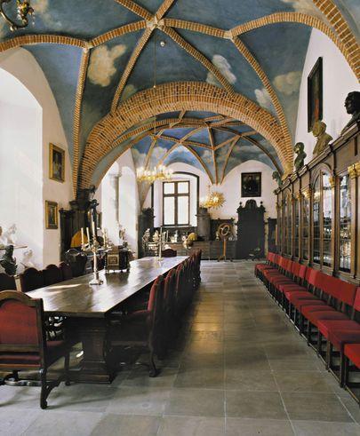 Library in Collegium Maius, Jagiellonian University