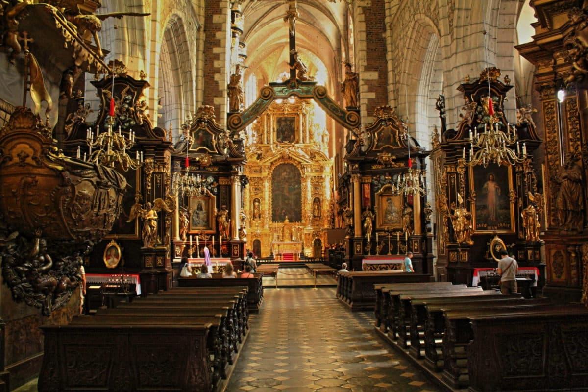 Corpus Cristi Church in Krakow