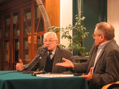 Meeting with Andrzej Wajda during Bayit Hadasz 2005