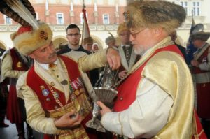 Enthronement of the Fowler King 2016 on the Main Market Square
