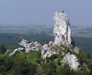 Rock formations of Jurassic Polish Highland