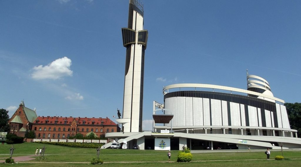Sanctuary of the Divine Mercy in Krakow Lagiewniki