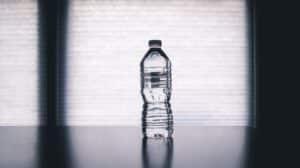 Drink water long haul flight