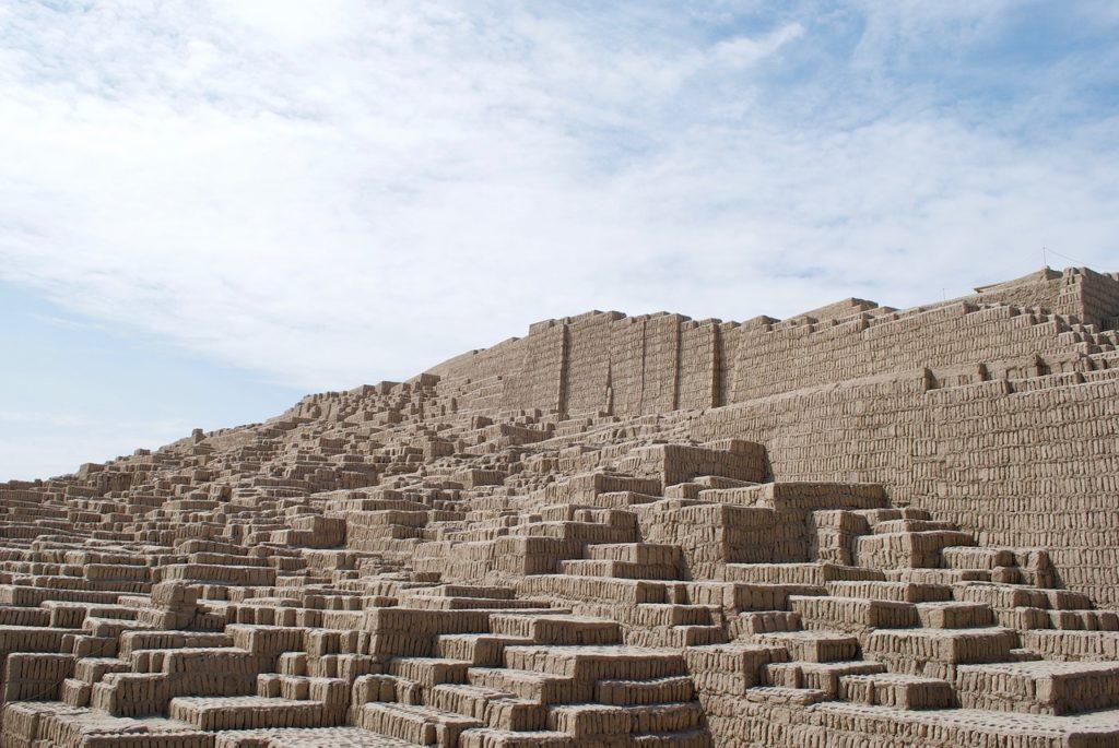Huaca Pucllana - great clay and adobe pyramid