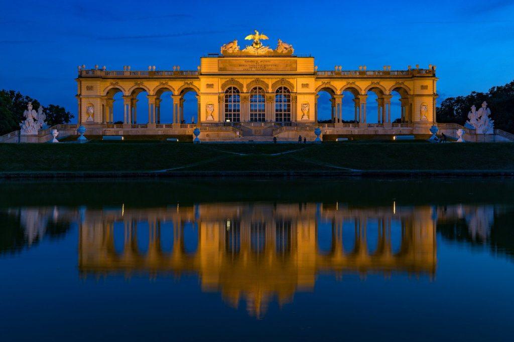 Schonbrunn gloriette vienna