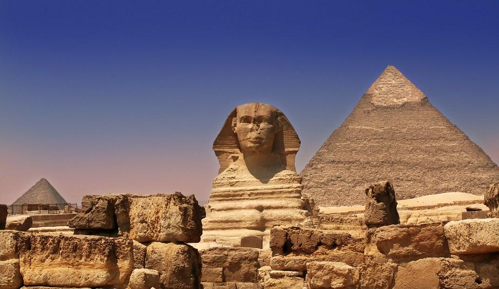 Pyramids Giza Cairo
